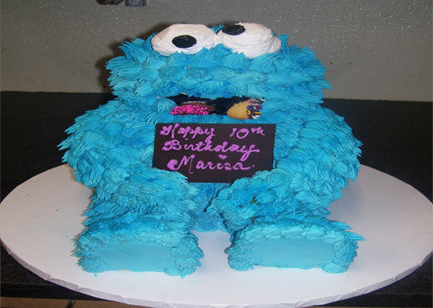 Cookie Monster Cake - Reinwald's Bakery - 2