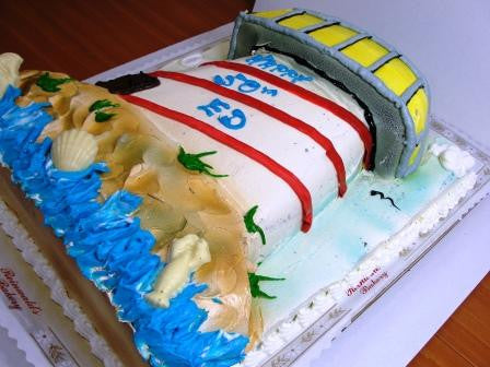 Lighthouse Cake - Reinwald's Bakery - 1