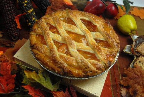 Peach Pie - Reinwald's Bakery
