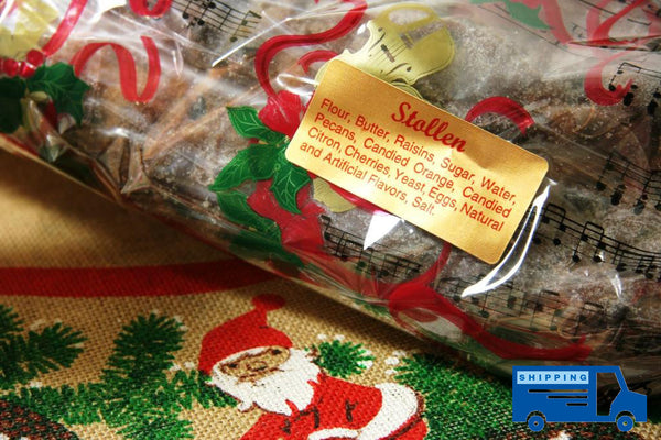 German Christmas Stollen - Reinwald's Bakery - 2