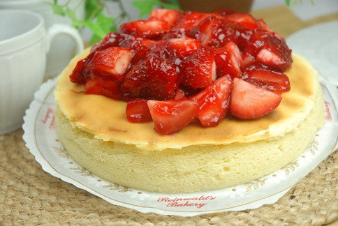 Brooklyn Cheesecake w/ Fruit - Reinwald's Bakery - 1