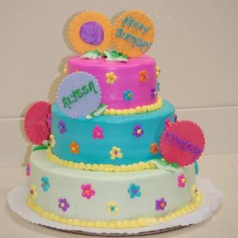 Three Tiered Cake (TB20) - Reinwald's Bakery