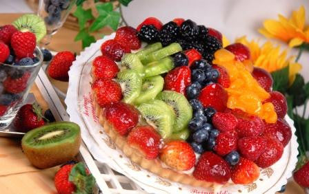 Tropical Fruit Torte - Reinwald's Bakery