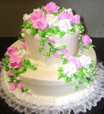 Wedding Cake 4 - Reinwald's Bakery