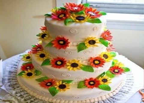 Wedding Cake 7 - Reinwald's Bakery