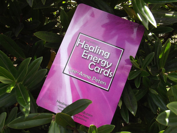 Healing Energy Cards - GOALS for project completion!