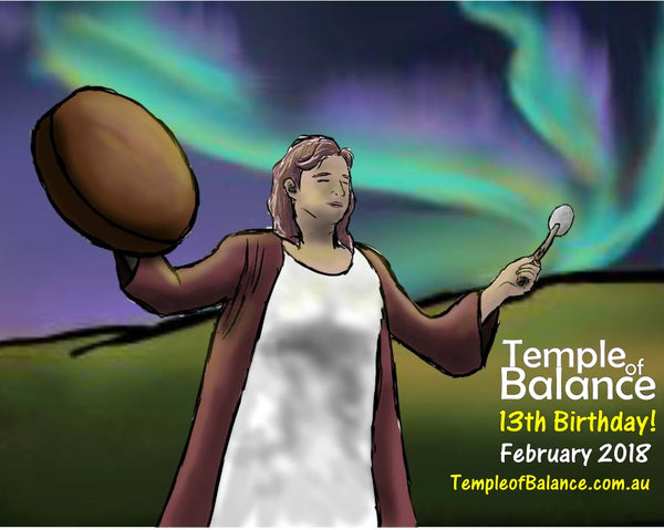 Happy 13th Birthday Temple of Balance