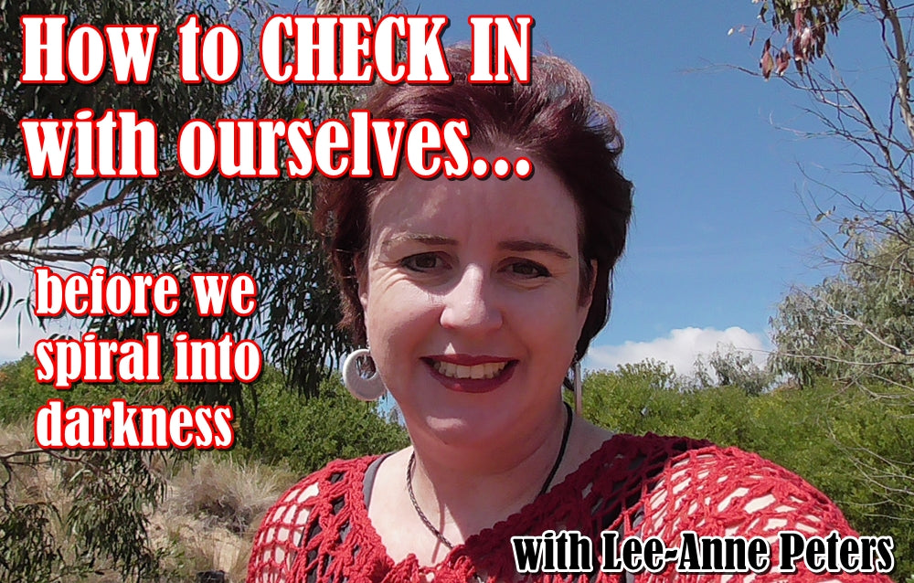 How to 'check in' with ourselves