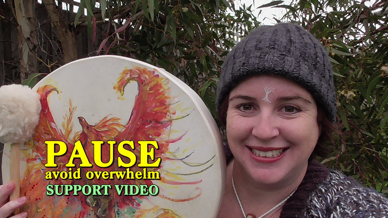 PAUSE - avoid overwhelm