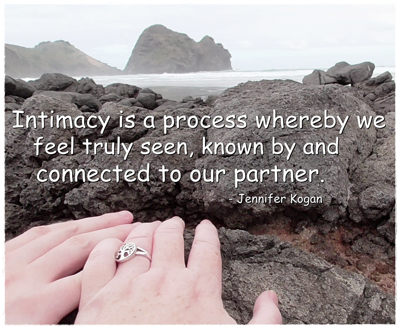 My theme for February - Intimacy