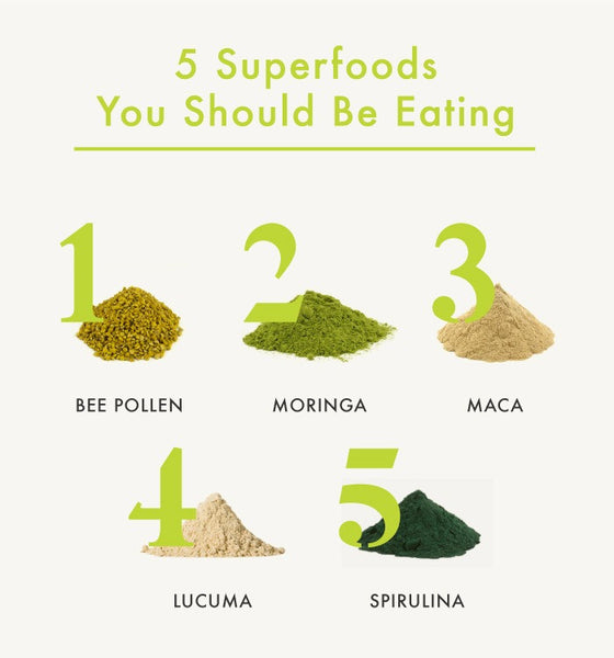 5 Superfoods You Should Be Eating