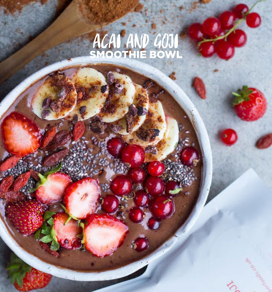 Acai & Goji Smoothie Bowl