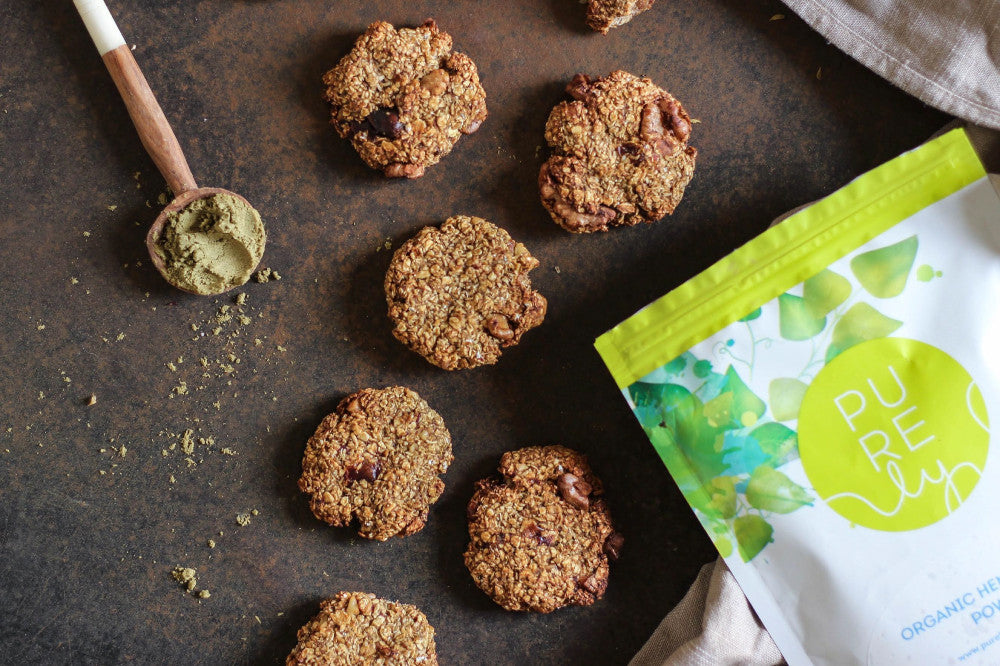 Vegan & Gluten Free Hemp Cookies