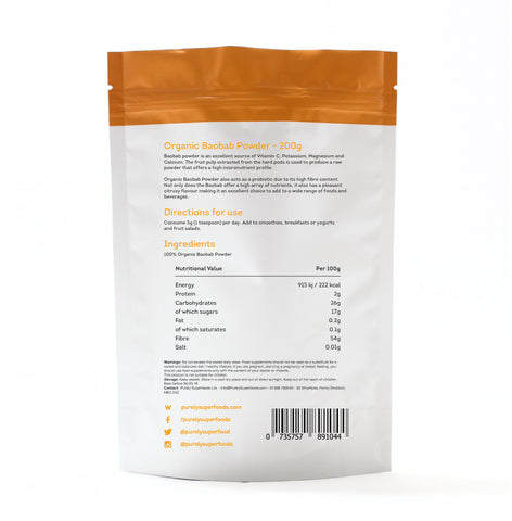 Purely Superfoods Baobab Powder