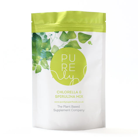 Purely Superfoods Chlorella & Spirulina Mix