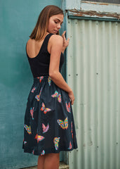 Butterfly Poppy Skirt