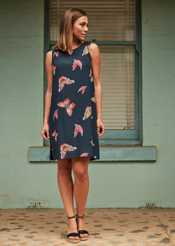 Butterfly Ruby Dress