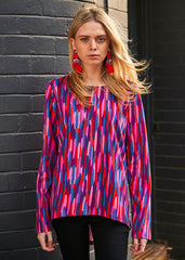 Coloured Rain Harper Top