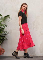 Queen Of Hearts Luna Skirt