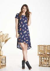 Navy Bug Trixie Dress