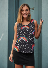 Rainbow Frankie Top