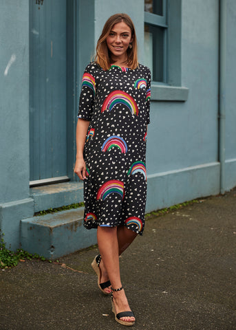 Rainbow Grace Dress