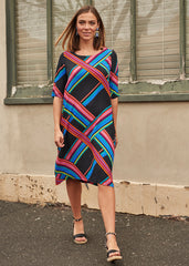 Stripe Grace Dress