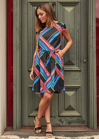 Stripe Maya Dress