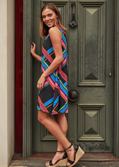 Stripe Ruby Dress