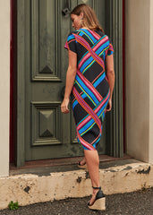 Stripe Trixie Dress