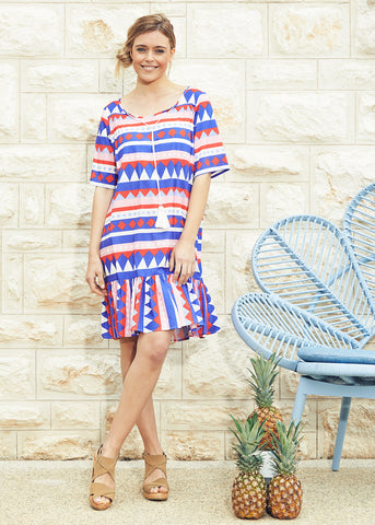 Star Dust Boho Dress