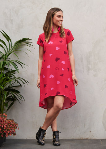 Queen Of Hearts Trixie Dress