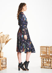 Native Mabel Wrap Dress