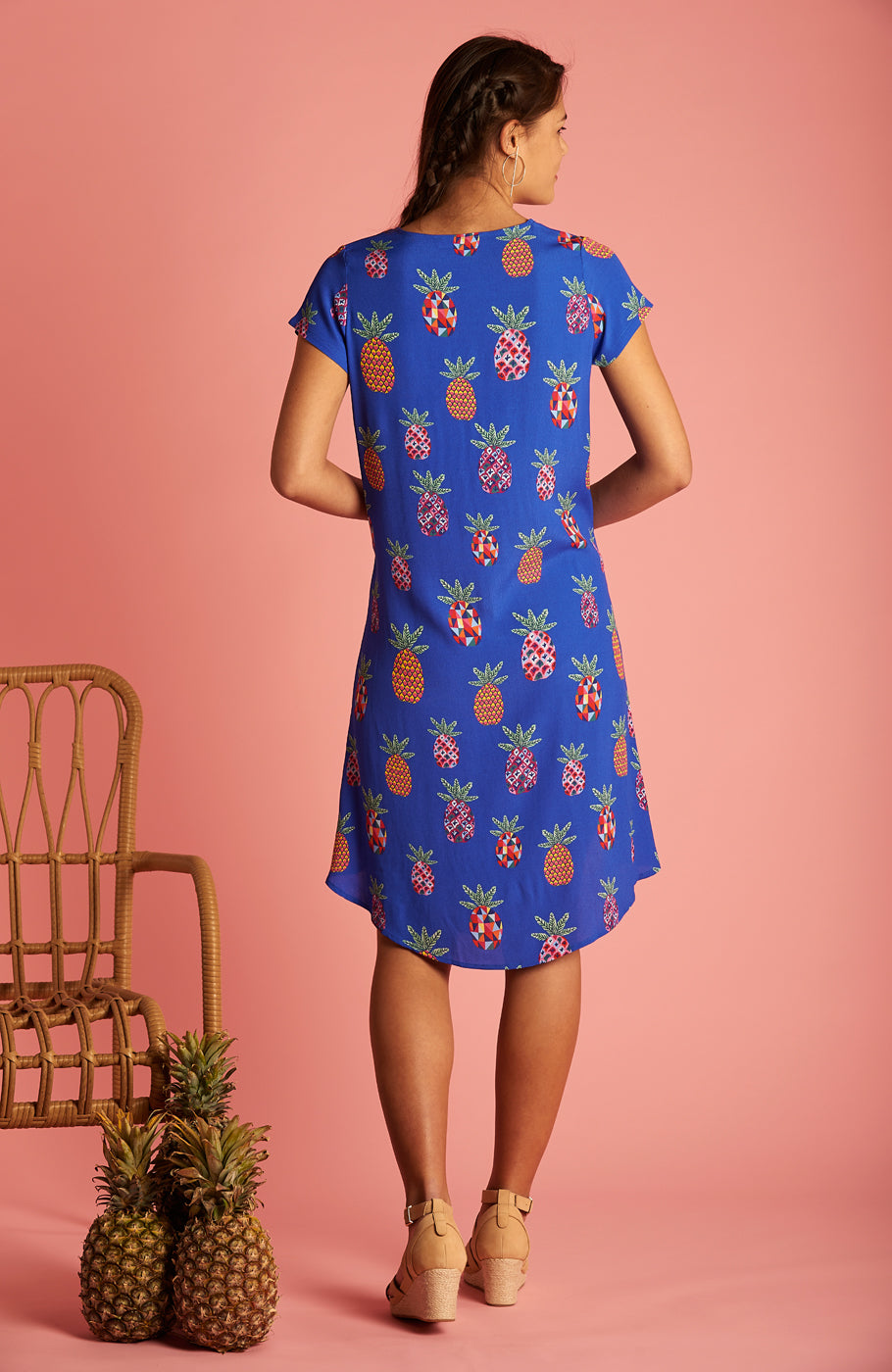 Pineapple Trixie Dress