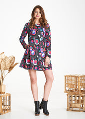Pop Dot Zephyr Dress