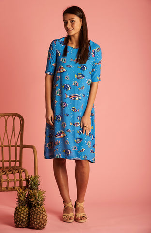 Reef Fish Grace Dress