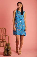 Reef Fish Ruby Dress