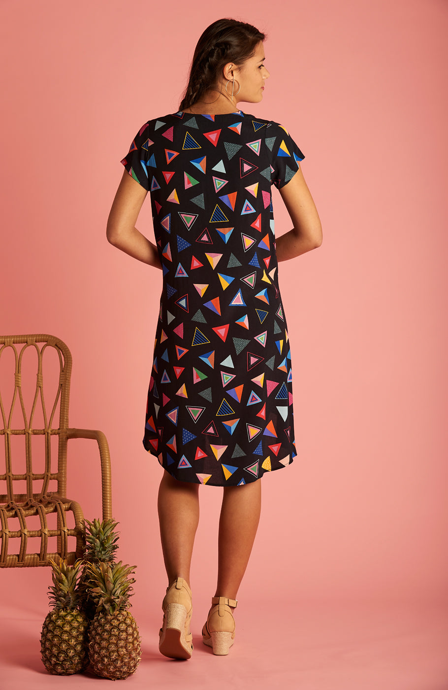Triangle Trixie Dress