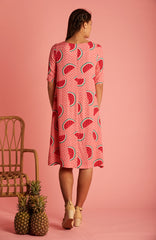 Watermelon Grace Dress