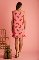 Watermelon Ruby Dress