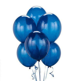 Balloons Latex Balloons Blue Balloon Bouquet