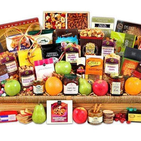 GIVOPOLY Food Fresh Fruit & Gourmet Gift Basket
