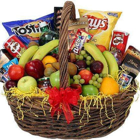 GIVOPOLY Fruit Basket Fresh Fruit & Gourmet Gift Basket