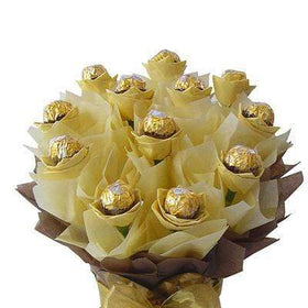 GIVOPOLY Chocolates Golden Chocolate Bouquet