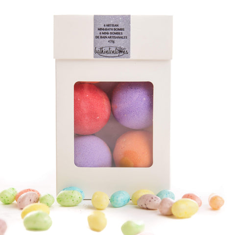 Bath Intentions Body Care I am awesome - mini-bath bombs set, jelly bean