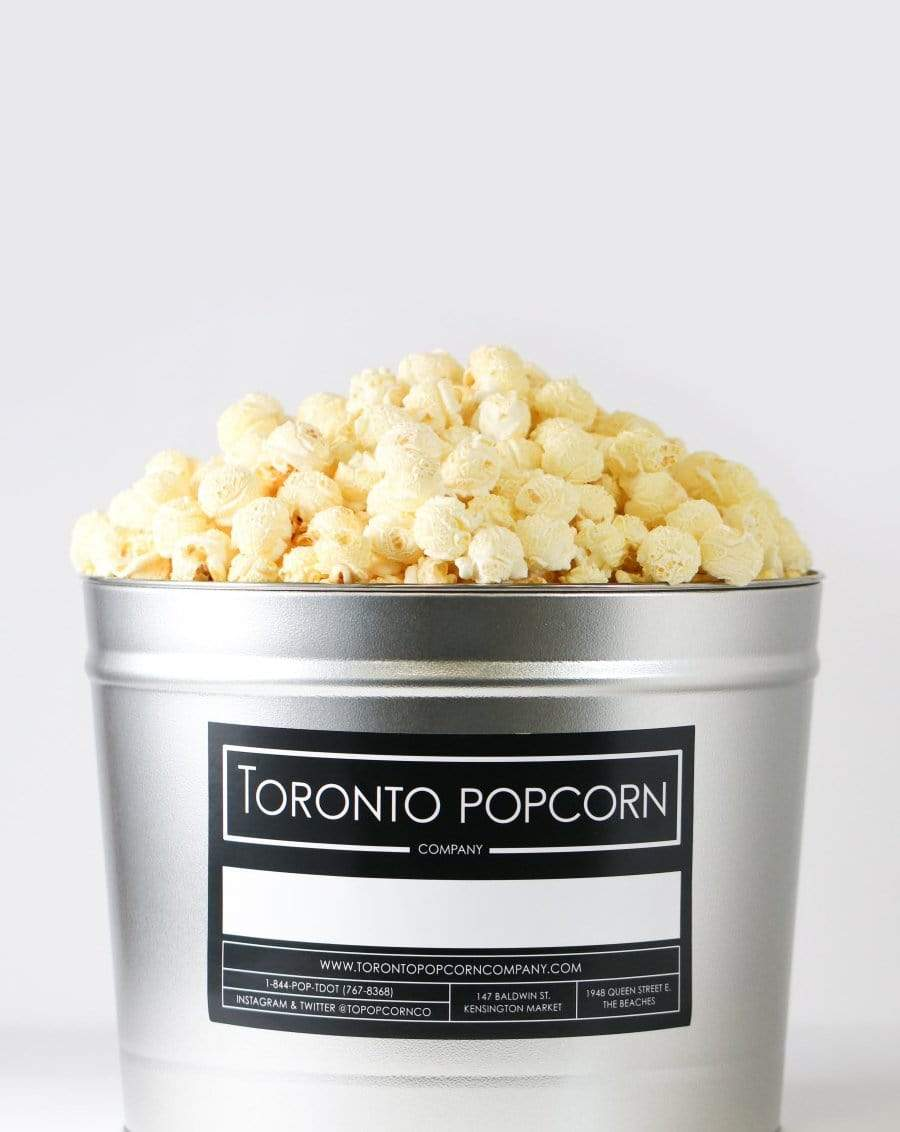 Toronto Popcorn Company Consumables One / 2 Gallon Multi-Flavour Popcorn Tin, (The Sweetheart)