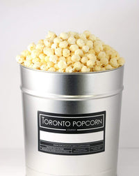 Toronto Popcorn Company Consumables One / 3.5 Gallon Multi-Flavour Popcorn Tin, (The Sweetheart)