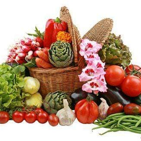 GIVOPOLY Food Seasonal Fresh Vegetables Gift Basket