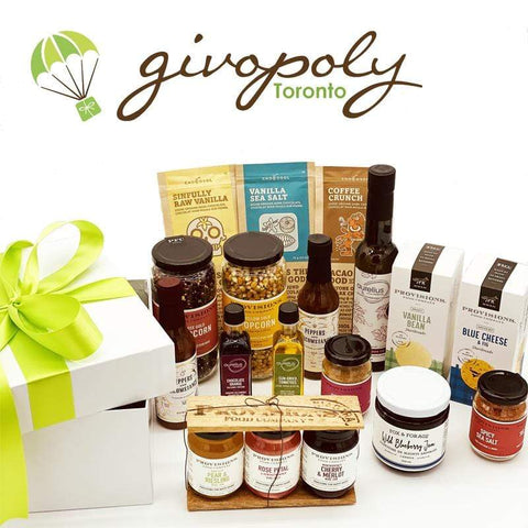 GIVOPOLY Gift Basket Urban Gourmet Local Foodie Box