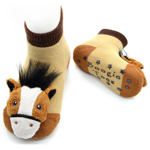 Boogie Toes Rattle Socks - Derby Ponies